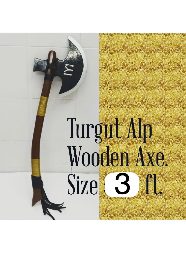 Turgut Axe Collectible - Complete Wood